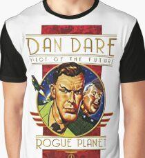 Dan dare retro comic book hero Graphic T-Shirt