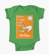 Green Eggs and Ham by Dr Suess One Piece - Short Sleeve