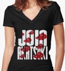 Join Akatsuki v2 Women's Fitted V-Neck T-Shirt