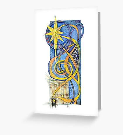 Love Come Down Greeting Card