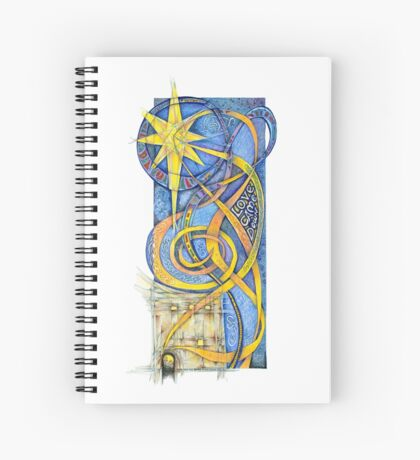 Love Come Down Spiral Notebook