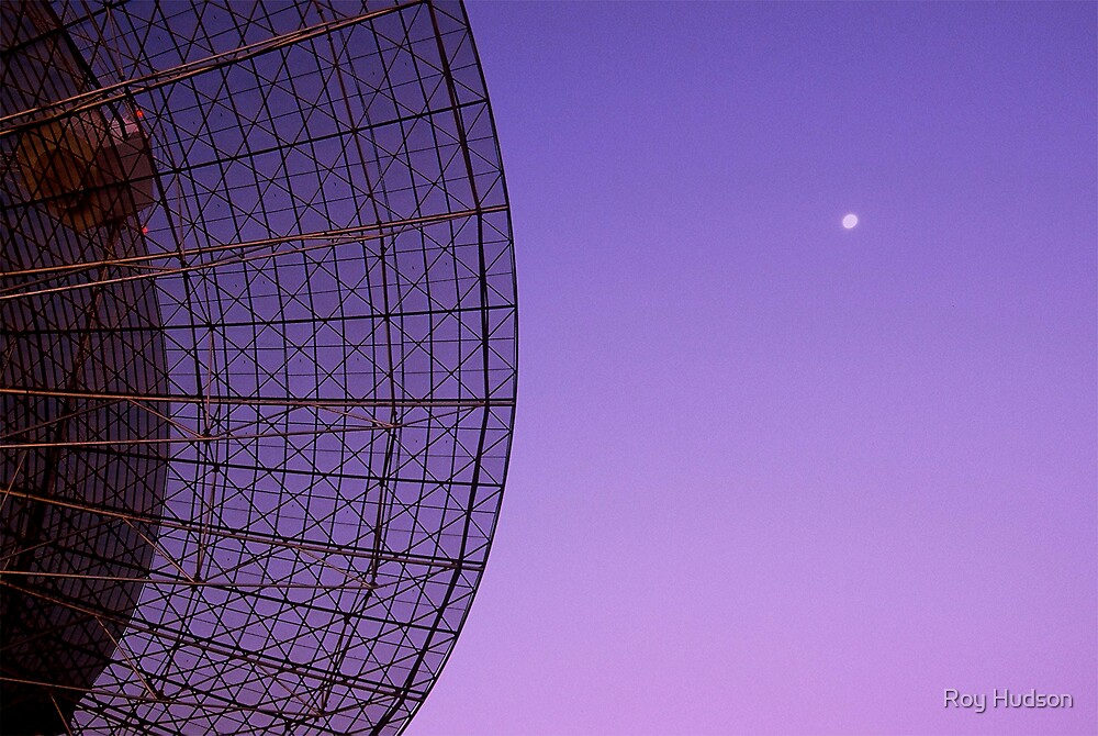 Dish and Moon by Roy Hudson