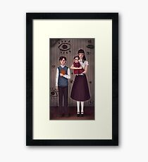 A Series of Unfortunate Events ~The Baudelaires Orphans ! Framed Print