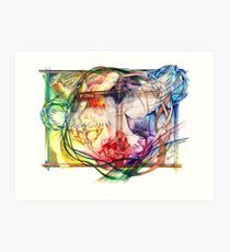 Lux Aeterna (Light Eternal) Art Print