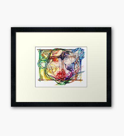 Lux Aeterna (Light Eternal) Framed Print
