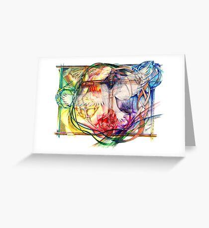 Lux Aeterna (Light Eternal) Greeting Card