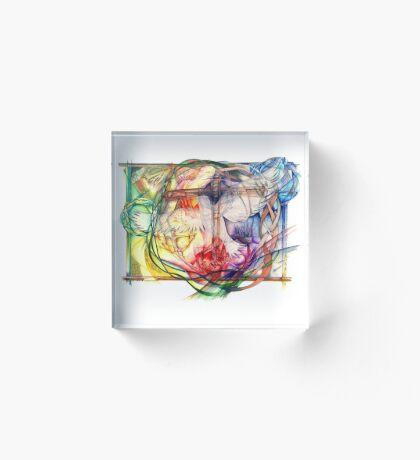 Lux Aeterna (Light Eternal) Acrylic Block