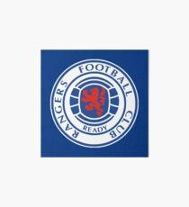 Glasgow Rangers - Football Art Board