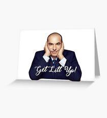 Get Litt Up Greeting Card