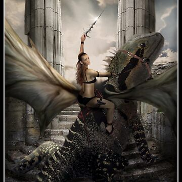 She Dreams Dragon by Cliff