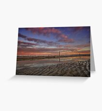 Merewether Baths at Dusk 6 Greeting Card