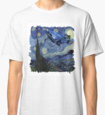 Starry Night Delorean Classic T-Shirt