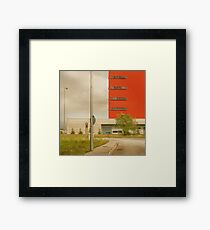Italy Industrial Framed Print