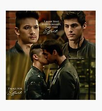 Malec Kiss Photographic Print