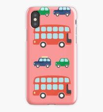 London Transport pattern iPhone Case