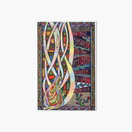 Magnificat Art Board Print
