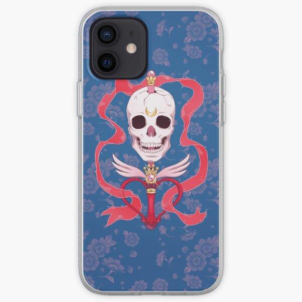 Moon Skull iPhone Soft Case