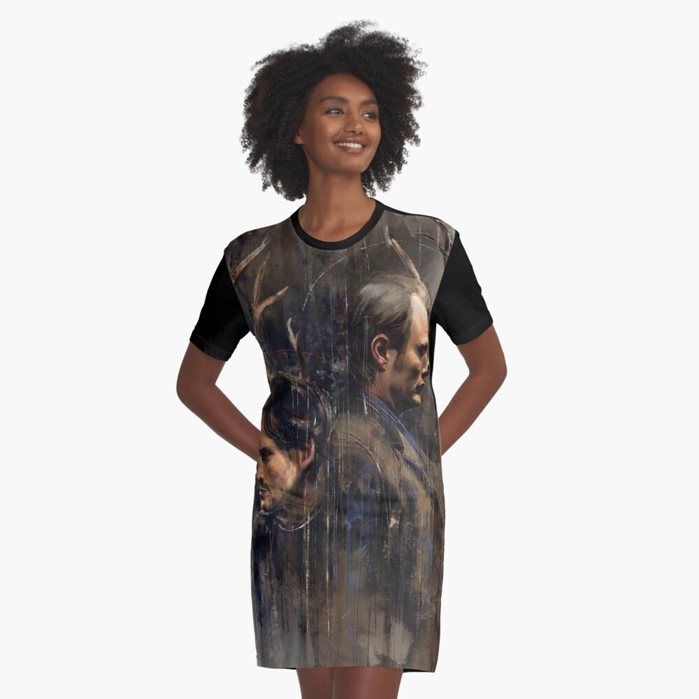 Ensemble Graphic T-Shirt Dress