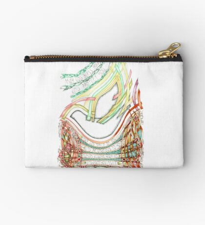 May God Smile Studio Pouch