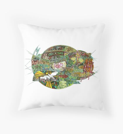 May the Grace Throw Pillow