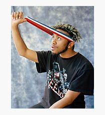 kevin abstract fader Photographic Print