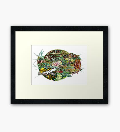 May the Grace Framed Print