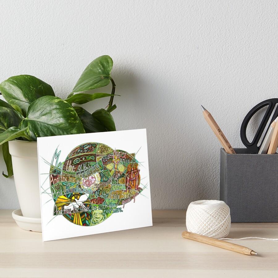 May the Grace Art Board Print