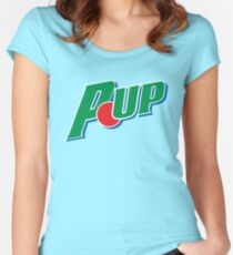 Pup UP! Women's Fitted Scoop T-Shirt