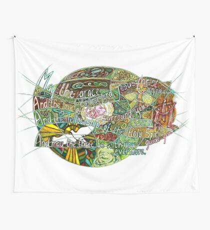 May the Grace Wall Tapestry