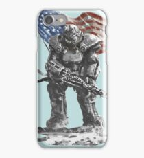 Fallout power armour suit iPhone Case/Skin