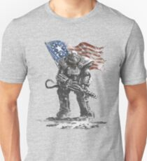 Fallout power armour suit T-Shirt