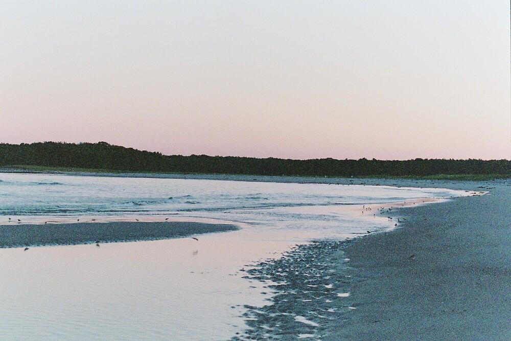sunset by amadge