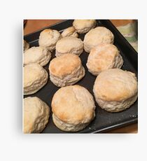 Vintage Biscuits Canvas Print
