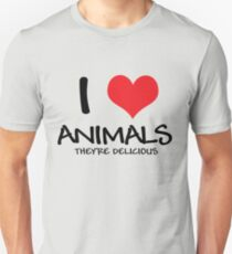 I love animals (they're delicious) T-Shirt