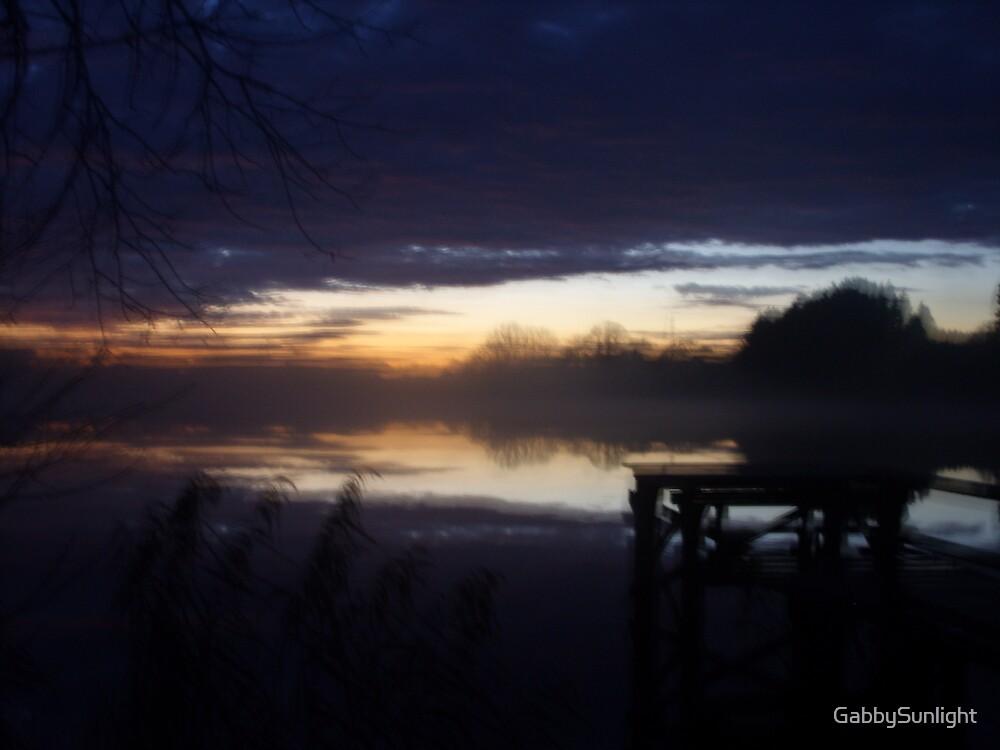 Misty Evening by GabbySunlight