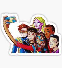Selfie Champions Sticker