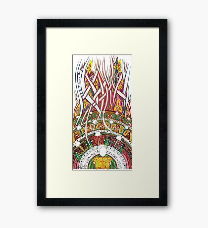 Merrily on High Framed Print