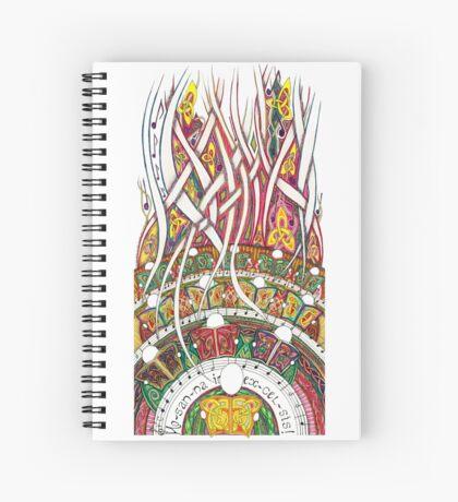Merrily on High Spiral Notebook