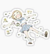 Mako in flowers Sticker