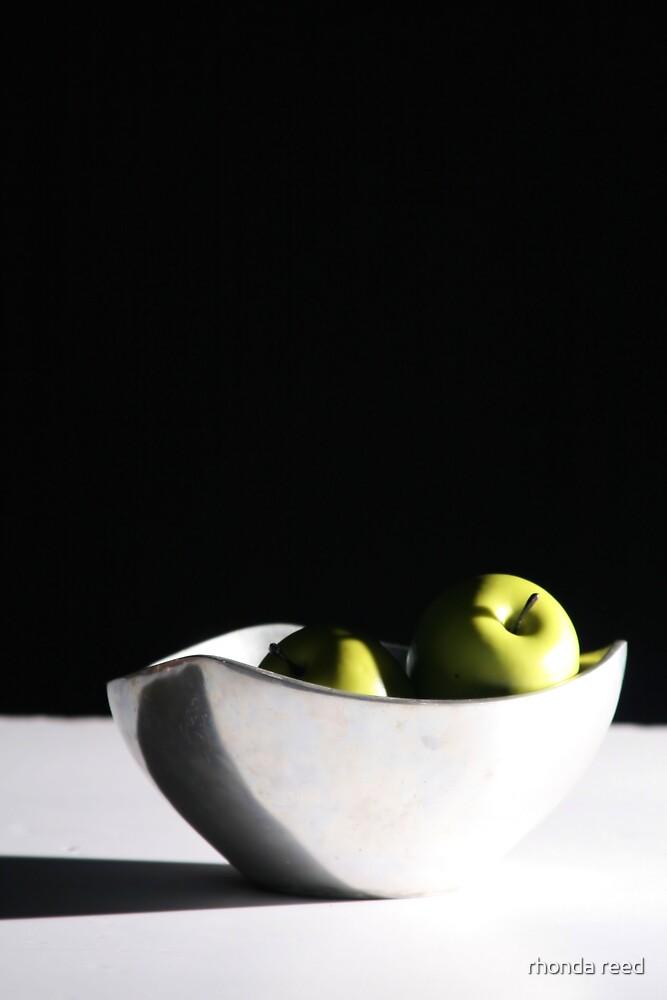 Fruit still life by rhonda reed