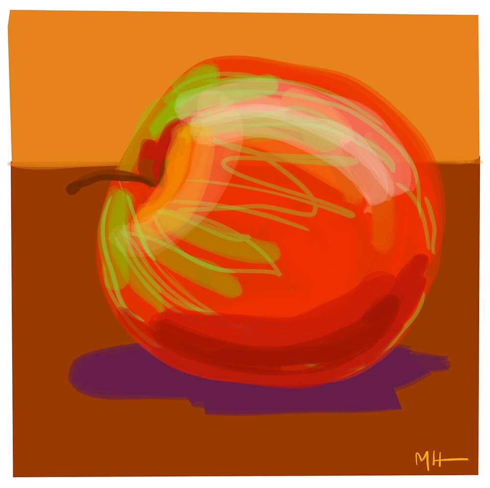 Still Life - Apple by Martin Howard