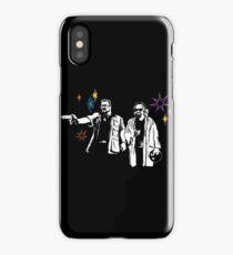 Big Lebowski Dude Fiction iPhone Case