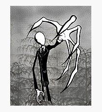 Slender Man Photographic Print