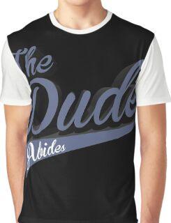 Big Lebowski The Dude Abides Graphic T-Shirt