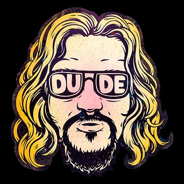 Big Lebowski The Dude by AdamAHoerner