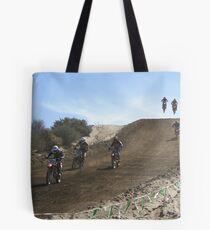 Motocross - Racing - Vet X Racing Series, Cahuilla, CA Tote Bag