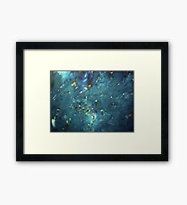 flooded forest (painting) Framed Print