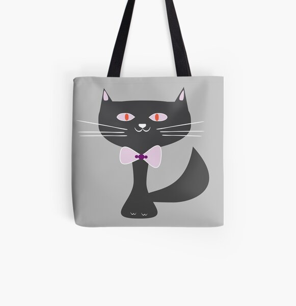 Mr. cat's meow All Over Print Tote Bag
