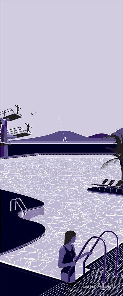 Poolside Blues by Lara Allport