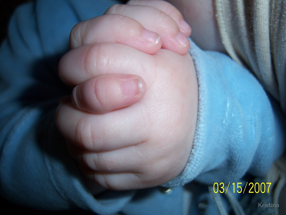baby hands by Kristina